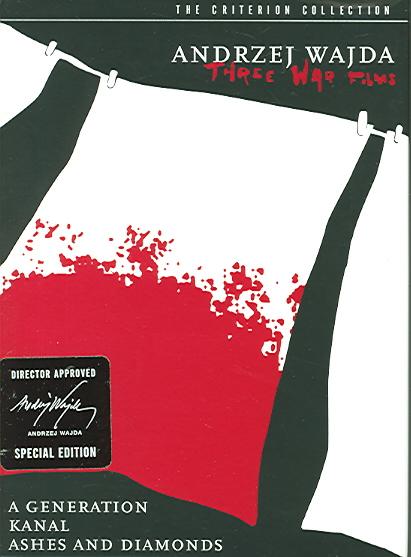 ANDRZEJ WAJDA:THREE WAR FILMS BY WAJDA,ANDRZEJ (DVD)